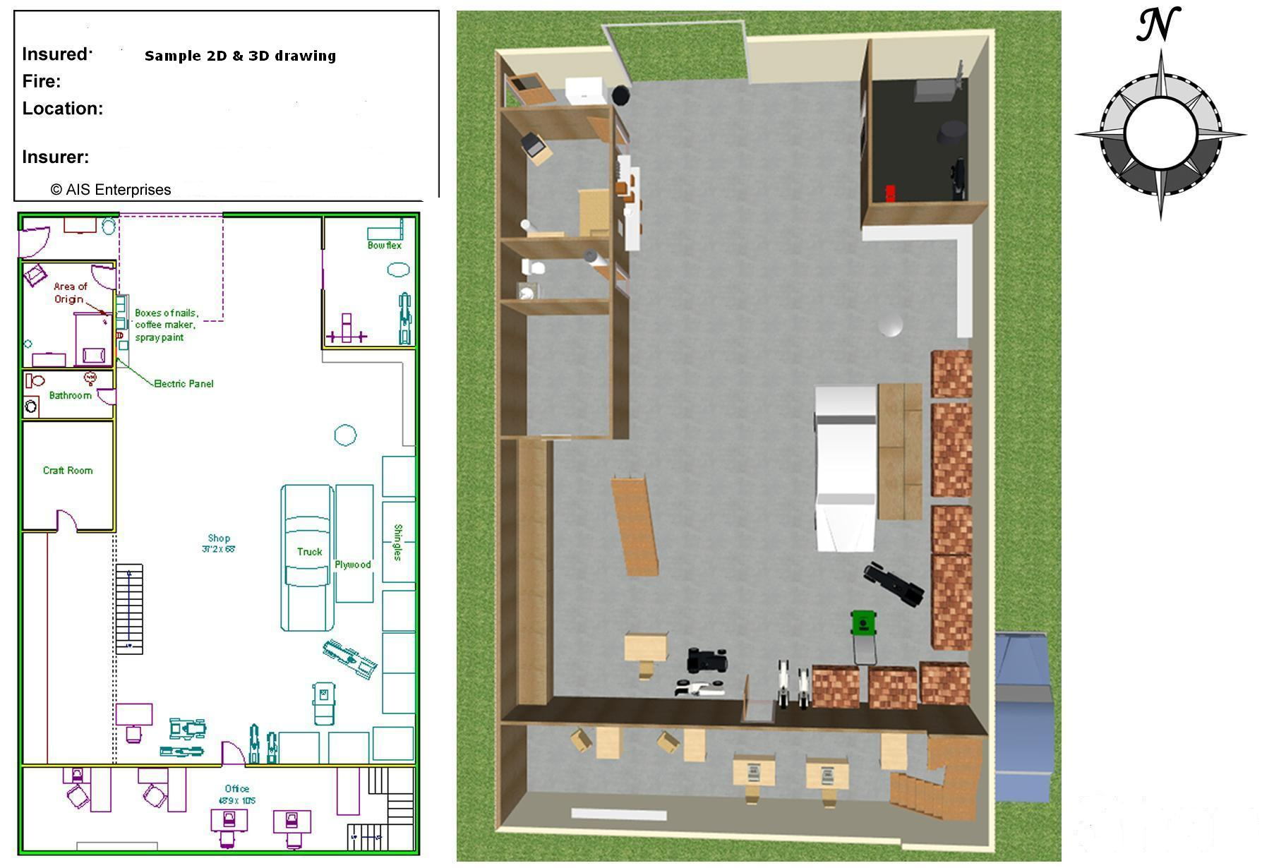 2d 3d cad drawings advanced investigative solutions for 3d plan drawing